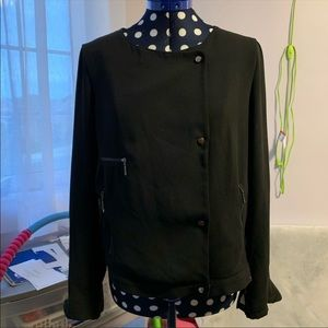 Zara Outerwear with Sheer Back